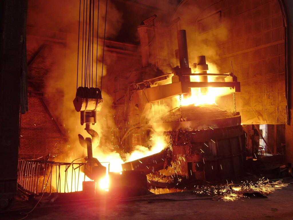 electric arc furnace for clean steel environment